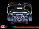 AWE Tuning S197 Mustang GT Axle-back Exhaust - Touring Edition (Chrome Silver Tips)