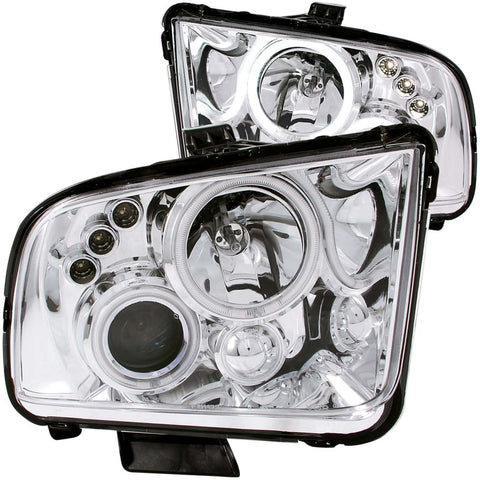 Anzo USA Phares avant chrome projecteur avec Halo Ford Mustang 2005-2009 - ATACK