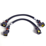 BBK 05-20 Dodge 4 Pin Square Style O2 Sensor Wire Harness Extensions 12 (pair)