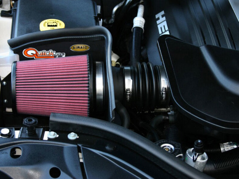 Airaid 05-09 Jeep Grand Cherokee 5.7L Hemi CAD Intake System w/ Tube (Oiled / Red Media)