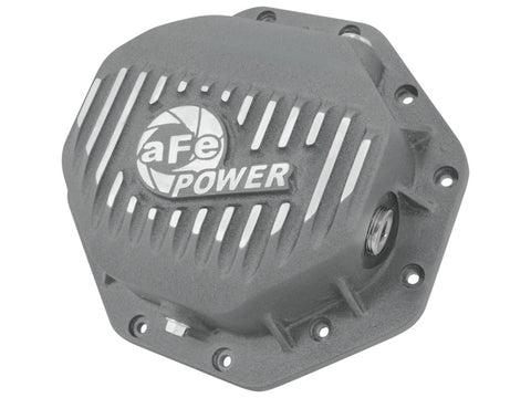 AFE Rear Differential Cover (Raw; Pro Series); Dodge/RAM 94-14 Corporate 9.25 (12-Bolt)