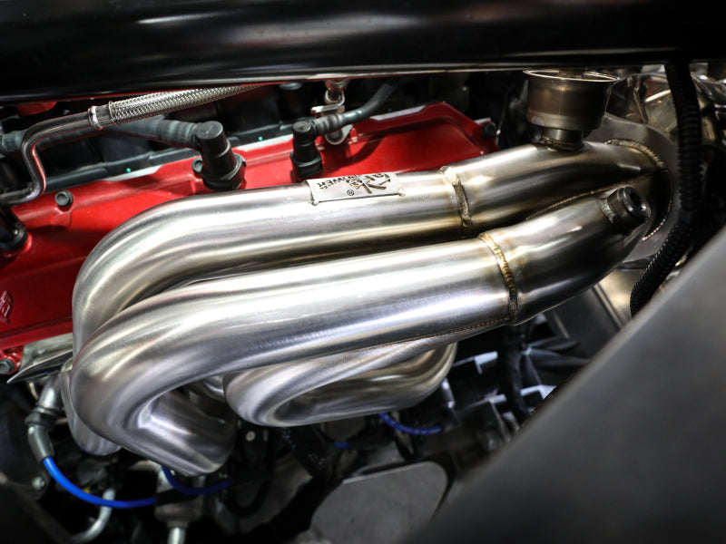 aFe Twisted 304SS Header 2020 Chevy Corvette (C8) 6.2L V8