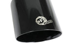 aFe MACH Force-XP 4-1/2in Black OE Replacement Exhaust Tips - 15-19 Dodge Charger/Hellcat