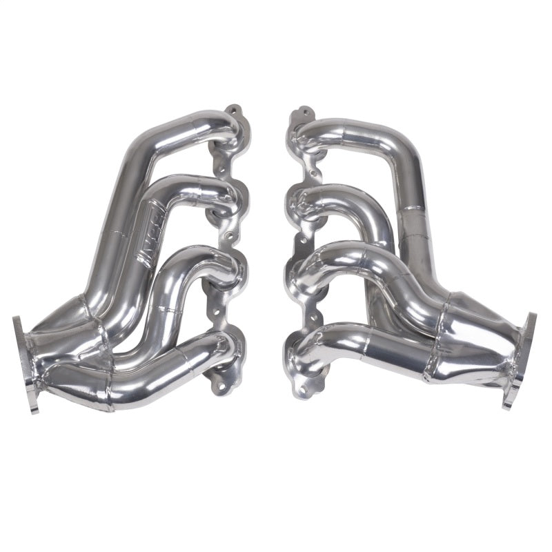 BBK 16-20 Chevrolet Camaro SS 6.2L Shorty Tuned Length Exhaust Headers - 1-3/4in Silver Ceramic