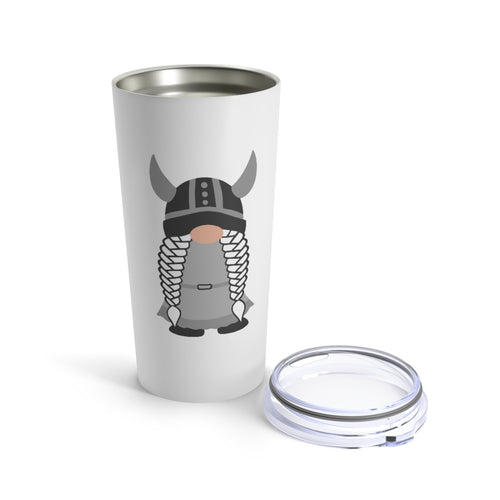 Viking Girl Gnome 20 oz Insulated Tumbler