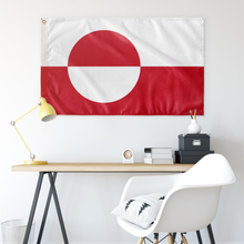 Load image into Gallery viewer, Greenlandic Flag - Scandinavian Design Studio