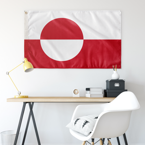 Greenlandic Flag - Scandinavian Design Studio