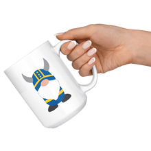 Load image into Gallery viewer, Swedish Viking Gnome Large Mug - Scandinavian Design Studio