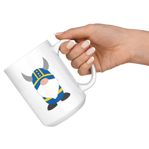 Swedish Viking Gnome Large Mug - Scandinavian Design Studio