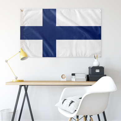 Finnish Flag - Scandinavian Design Studio
