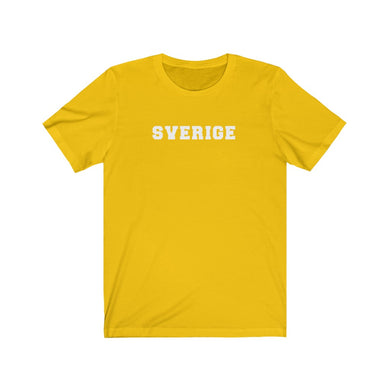 Sverige Unisex T-Shirt Maize Yellow / L - Scandinavian Design Studio