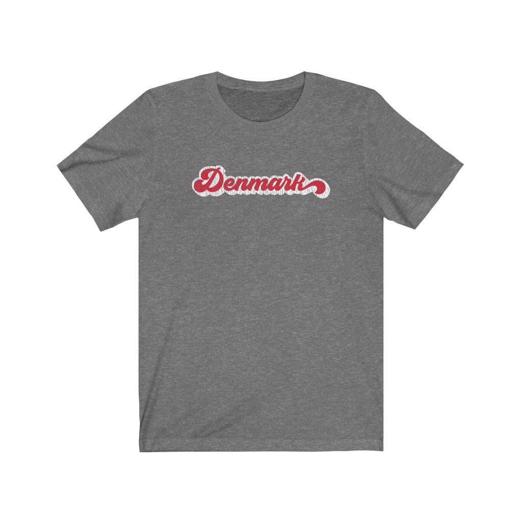 Retro Denmark Unisex T-Shirt Deep Heather / L - Scandinavian Design Studio