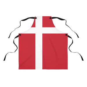 Danish Flag Apron - Scandinavian Design Studio