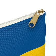 Load image into Gallery viewer, Swedish Flag Accessory Pouch