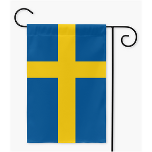 Swedish Flag Garden Flag 12x18 inch - Scandinavian Design Studio