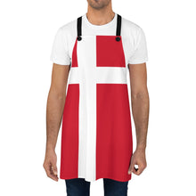Load image into Gallery viewer, Danish Flag Apron - Scandinavian Design Studio