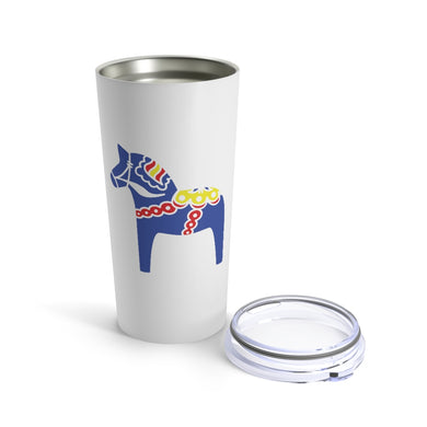 Traditional Horse 20 oz Insulated Tumbler 20oz - Scandinavian Design Studio