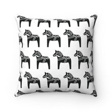 Load image into Gallery viewer, Dala Horse Print Pillow Cover - Scandinavian Design Studio