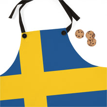Load image into Gallery viewer, Swedish Flag Apron