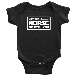 May The Norse Be With You Baby Bodysuit