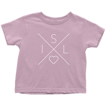 Load image into Gallery viewer, Iceland Love Toddler Tee Toddler T-Shirt / Pink / 2T - Scandinavian Design Studio