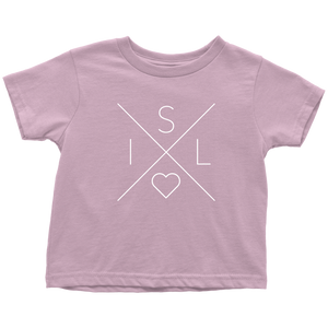 Iceland Love Toddler Tee Toddler T-Shirt / Pink / 2T - Scandinavian Design Studio