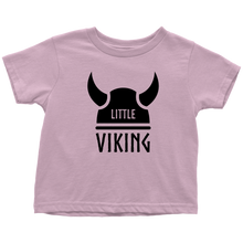 Load image into Gallery viewer, Little Viking Toddler Tee Toddler T-Shirt / Pink / 2T - Scandinavian Design Studio