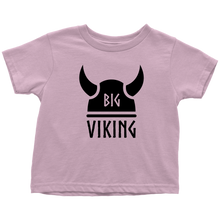 Load image into Gallery viewer, Big Viking Toddler Tee Toddler T-Shirt / Pink / 2T - Scandinavian Design Studio