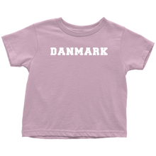 Load image into Gallery viewer, Danmark Toddler Tee Toddler T-Shirt / Pink / 2T - Scandinavian Design Studio
