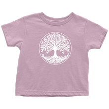 Load image into Gallery viewer, Tree Of Life Toddler Tee Toddler T-Shirt / Pink / 2T - Scandinavian Design Studio