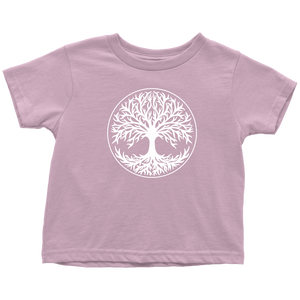 Tree Of Life Toddler Tee Toddler T-Shirt / Pink / 2T - Scandinavian Design Studio