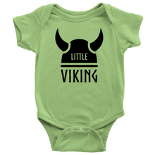 Load image into Gallery viewer, Little Viking Baby Bodysuit Baby Bodysuit / Keylime / NB - Scandinavian Design Studio