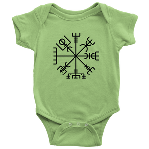 Viking Compass Baby Bodysuit