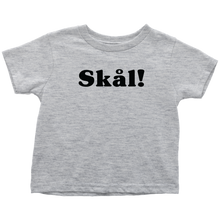 Load image into Gallery viewer, Skål Toddler Tee Toddler T-Shirt / Heather Grey / 2T - Scandinavian Design Studio