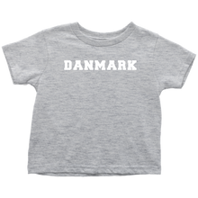Load image into Gallery viewer, Danmark Toddler Tee Toddler T-Shirt / Heather Grey / 2T - Scandinavian Design Studio