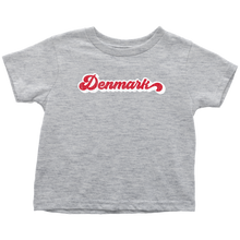 Load image into Gallery viewer, Retro Denmark Toddler Tee Toddler T-Shirt / Heather Grey / 2T - Scandinavian Design Studio