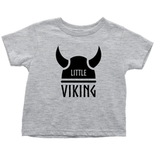 Load image into Gallery viewer, Little Viking Toddler Tee Toddler T-Shirt / Heather Grey / 2T - Scandinavian Design Studio