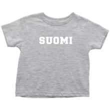 Load image into Gallery viewer, Suomi Toddler Tee Toddler T-Shirt / Heather Grey / 2T - Scandinavian Design Studio