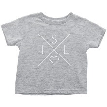 Load image into Gallery viewer, Iceland Love Toddler Tee Toddler T-Shirt / Heather Grey / 2T - Scandinavian Design Studio