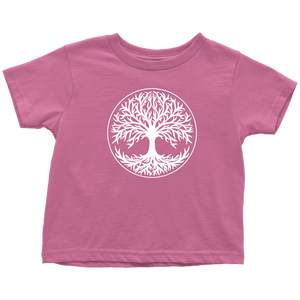 Tree Of Life Toddler Tee Toddler T-Shirt / Raspberry / 2T - Scandinavian Design Studio