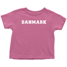 Load image into Gallery viewer, Danmark Toddler Tee Toddler T-Shirt / Raspberry / 2T - Scandinavian Design Studio