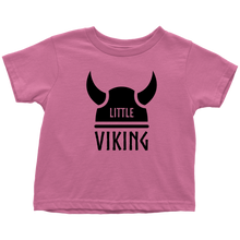 Load image into Gallery viewer, Little Viking Toddler Tee Toddler T-Shirt / Raspberry / 2T - Scandinavian Design Studio