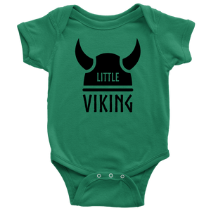Little Viking Baby Bodysuit Baby Bodysuit / Kelly / NB - Scandinavian Design Studio