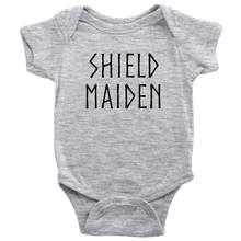 Load image into Gallery viewer, Shield Maiden Baby Bodysuit