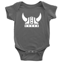 Load image into Gallery viewer, Viking Helmet Baby Bodysuit