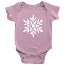 Load image into Gallery viewer, Snowflake Baby Bodysuit