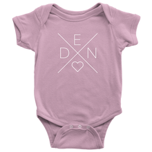 Load image into Gallery viewer, Denmark Love Baby Bodysuit Baby Bodysuit / Pink / NB - Scandinavian Design Studio