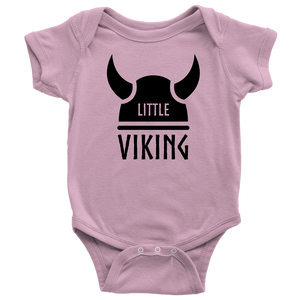 Little Viking Baby Bodysuit Baby Bodysuit / Pink / NB - Scandinavian Design Studio