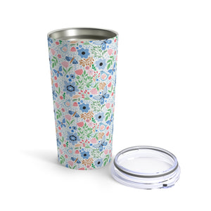 Spring Flower Print 20 oz Insulated Tumbler