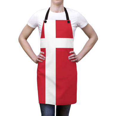 Danish Flag Apron One Size - Scandinavian Design Studio